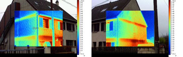 Exemples de Thermographie Infrarouge
