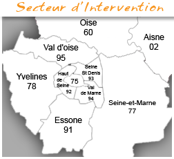 Secteur d'intervention